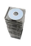Stack of cd Stock Photo