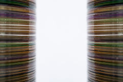 Stack of Cd or DVD Stock Photos