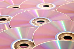 Stack of CDs Stock Images