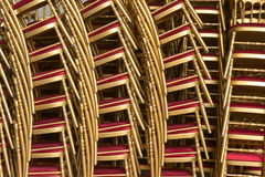 Stack of chairs Stock Photography