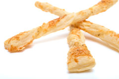 Stack of cheese sticks Stock Photo