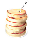 Stack of cheesecakes Royalty Free Stock Photo
