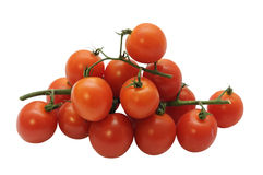 Stack of cherry tomatoes Stock Photography
