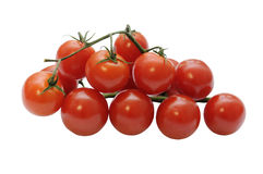 Stack of cherry tomatoes Stock Photos
