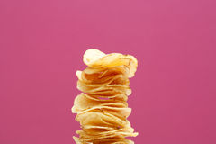 Stack of chips Stock Image