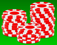 Stack chips Royalty Free Stock Image