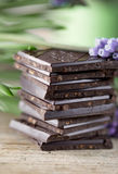 Stack of Chocolate Royalty Free Stock Photo