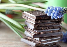 Stack of Chocolate Stock Image