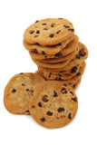 Stack Of Chocolate Chip Cookies Royalty Free Stock Photography