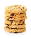 A stack of chocolate chip cookies Stock Photography