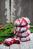 Stack of Christmas cookies Royalty Free Stock Photography