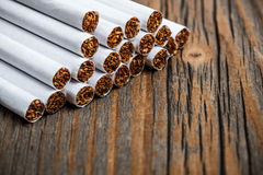 Stack of cigarette Royalty Free Stock Photography