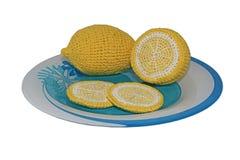 Stack citroner Royaltyfri Foto