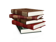 Stack of classic books Royalty Free Stock Image