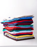 Stack clothes Royalty Free Stock Images
