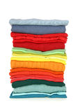 Stack of clothes Stock Image