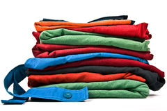 Stack of clothes Royalty Free Stock Image