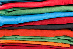 Stack of clothes Royalty Free Stock Images