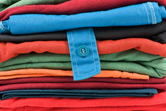 Stack of clothes Stock Photography