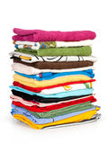 Stack of clothing Royalty Free Stock Photos