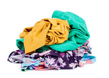 Stack of clothing Stock Image