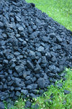 Stack of coal Royalty Free Stock Photo