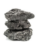 Stack of coal Royalty Free Stock Photography