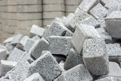 Stack of cobblestone. Royalty Free Stock Photo