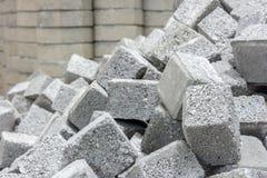 Stack of cobblestone. Royalty Free Stock Photo