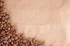Stack and coffee Royalty Free Stock Photography