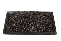 Stack of coffee bean  Royalty Free Stock Photo