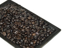 Stack of coffee bean  Royalty Free Stock Photography
