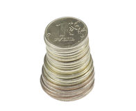 Stack of coin Stock Photos