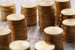 Stack of coin Royalty Free Stock Photography