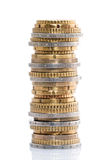 Stack of coins Stock Photos
