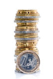 Stack of coins Stock Image