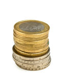 Stack coins Stock Photo