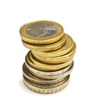 Stack coins Royalty Free Stock Photos