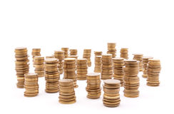 Stack of coins Royalty Free Stock Images