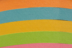Stack Colored Paper Background Stock Images