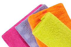 Bath towels. Stock Photo