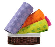 Bath towels. Stock Photography