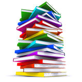 A stack of colorful books Stock Photography