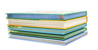Stack of colorful books Stock Images