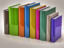 Stack of colorful books Royalty Free Stock Images
