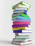 Stack of colorful books Stock Photography