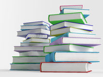 Stack of colorful books Royalty Free Stock Photography