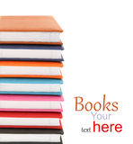 Stack of colorful books Stock Image