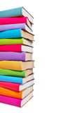 Stack of colorful books Royalty Free Stock Photos
