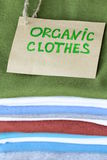 Stack of colorful clothing Royalty Free Stock Photos